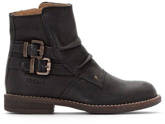 Kickers Kids Oxfotoz Leather Ankle Boots