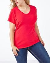 Penningtons Form Fit V-Neck T-Shirt