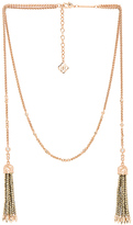 Kendra Scott Monique Necklace in Metallic Copper.