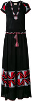 Laneus shift maxi dress - women - Cotton/Viscose - 42