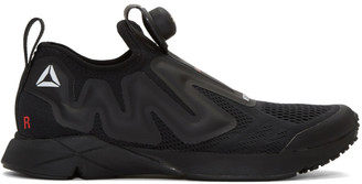 Vetements SSENSE Exclusive Black Reebok Edition Pump Supreme Sneakers