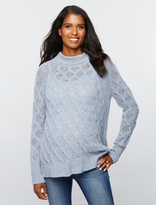 A Pea in the Pod 360 Cashmere Turtleneck Maternity Sweater