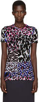 Versace Multicolor Embroidered T-Shirt