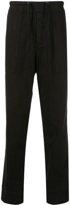 James Perse Straight-Leg Drawstring Trousers