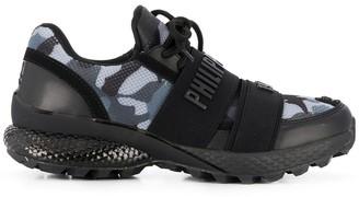 Philipp Plein 3D-logo Runner Camouflage sneakers