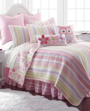 Levtex Home Merrill Stripe Girl Full/Queen Quilt Set