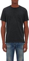 Rag & Bone Men's Standard Issue Mélange Cotton-Blend Jersey T-Shirt-DARK GREEN