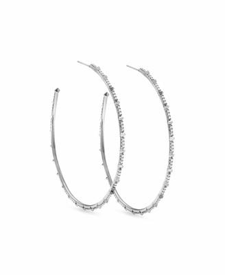Kendra Scott Nia Earrings in White Diamond