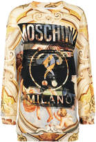 Moschino Fresco print sweat dress