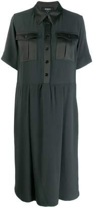 Rochas loose fit shirt dress