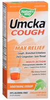 Nature's Way Umcka Soothing Syrup, Max Relief English Ivy Base