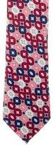 Emilio Pucci Silk Geometric Print Tie