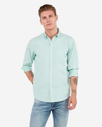 Express Classic Soft Wash Button-Down Shirt