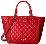Love Moschino Superquilted Small Tote Tote Handbags