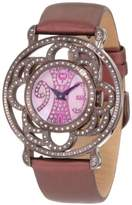 Brillier Women's 04-71727-10 Papillon Swiss-Quartz Mother-Of-Pearl Watch