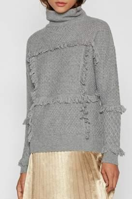 Joie Paisli Fringe Sweater