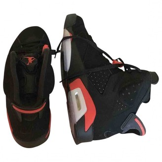 Jordan Air 6 Black Suede Trainers