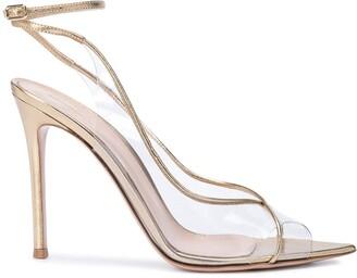 Gianvito Rossi Strappy High Perspex Sandals