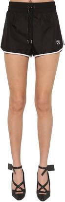 Off-White Logo Nylon Sport Shorts