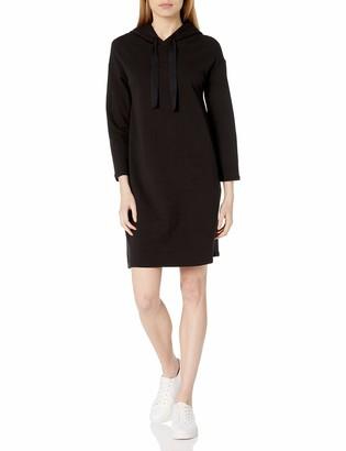 Daily Ritual Amazon Brand Women's Terry Cotton and Modal Sweatshirt Dress