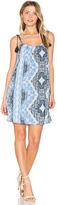 Heartloom Dustin Dress in Blue. - size L (also in M,S,XS)