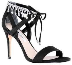Nina Collina Bejeweled Dress Sandals
