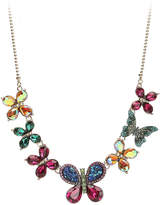 Betsey Johnson Women's Butterfly Collar Necklace
