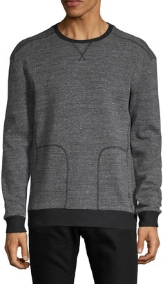 Threads 4 Thought Heathered Cotton-Blend Sweatshirt