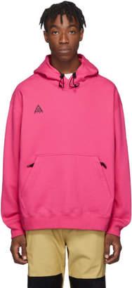 Nike Pink ACG Pullover Hoodie