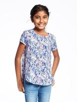 Old Navy Relaxed Tulip-Hem Tee for Girls