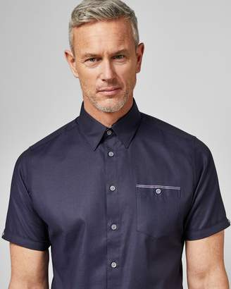 Ted Baker Tall Cotton Short Sleeved Shirt