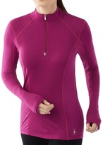 Smartwool PhD Light Zip Neck Shirt - Merino Wool, Long Sleeve (For Women)