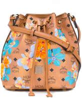 MCM Essential floral drawstring bag