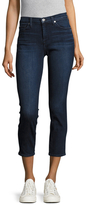 """7 For All Mankind Squiggle 26"""" Crop Roxanne Skinny Jeans"""
