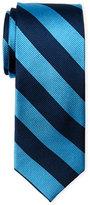 Pierre Cardin Club Stripe Slim Silk Tie