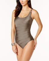 Calvin Klein Starburst One-Piece Swimsuit,A Macy's Exclusive Style Women's Swimsuit