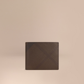 Burberry Check Folding Wallet