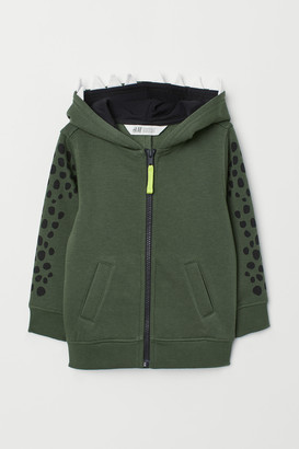 H&M Hooded Jacket with Motif