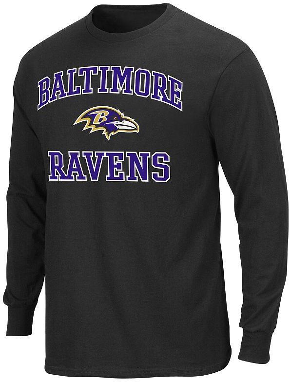 Baltimore ravens heart and soul ii tee - men