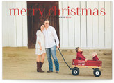 Minted Timeless Greeting Christmas Photo Cards