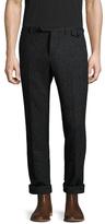 Michael Bastian Herringbone Flat Front Trousers