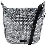 Vera Bradley Carson Metallic Microfiber Zip TopHobo Handbag