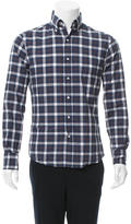 Michael Bastian Gingham Button-Up Shirt w/ Tags