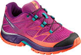 Salomon Deep Dahlia & Cosmic Purple Wings Trail Running Shoe - Kids