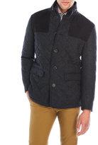 Hart Schaffner Marx Quilted Wool Jacket