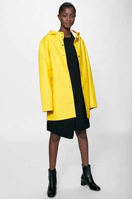 Stutterheim Stockholm Yellow Unisex Raincoat - XXS - Yellow