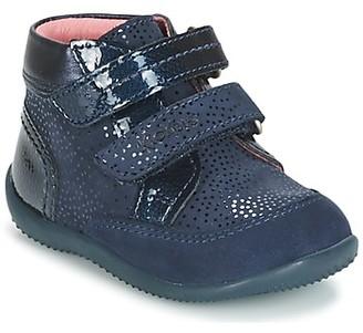 Kickers BILIANA girls's Mid Boots in Blue