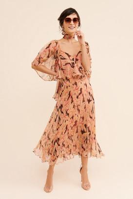 Mes Demoiselles Mod Century Midi Dress