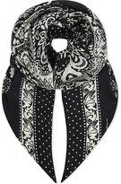 The Kooples Patterned silk scarf