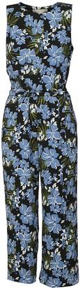 Michael Kors Floral Printed Sleeveless Dress